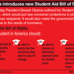 Big News: President Obama Unveils Student Aid Bill of Rights