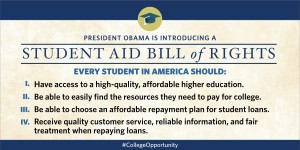 President Obama Unveils Student Aid Bill of Rights